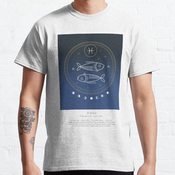 Pisces / Star Sign / Zodiac Artwork Classic T-Shirt