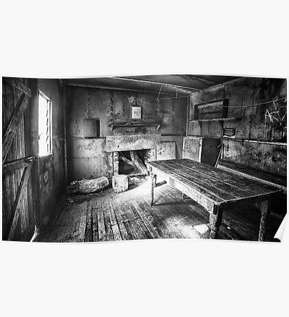 Inside Edmonson's Hut Poster