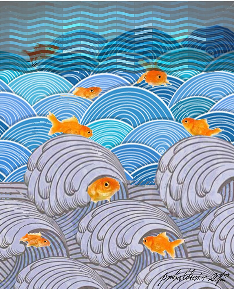 """Fishlife"" by Patrice Baldwin"
