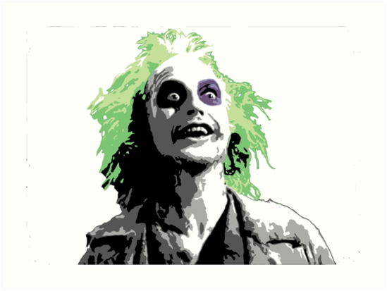 """""""Beetlejuice"""" Art Prints by bethieseay 