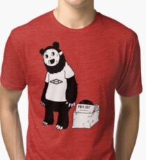 AAHIPHOP D.I.T.C Bear Tri-blend T-Shirt