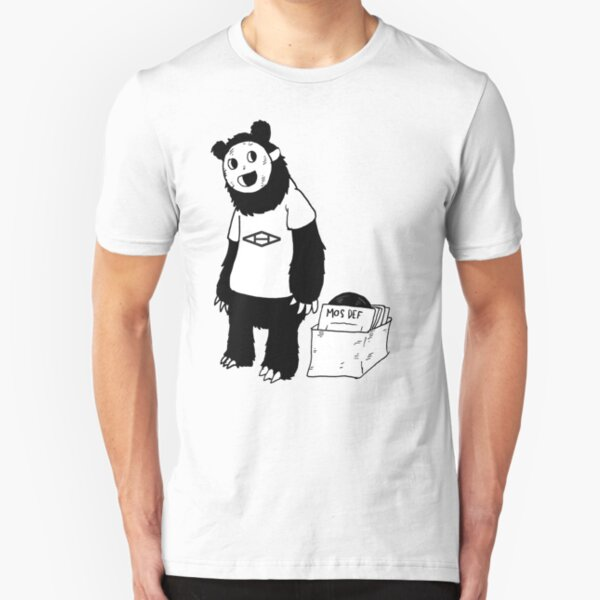 AAHIPHOP D.I.T.C Bear Slim Fit T-Shirt