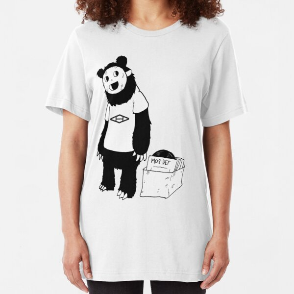 AAHIPHOP D.I.T.C Bear Slim Fit T-Shirt