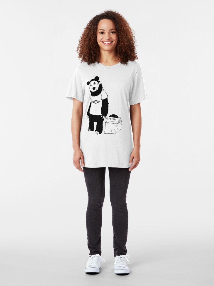 Alternate view of AAHIPHOP D.I.T.C Bear Slim Fit T-Shirt