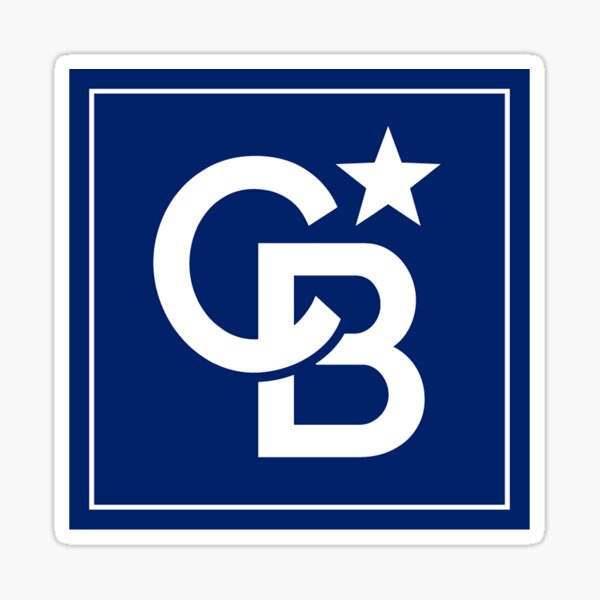 Coldwell Banker - CB North Star Logo - Coldwell Banker Real Estate Sticker