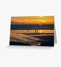 Beach Party - Broadhaven Greeting Card