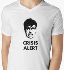 Garret Crisis Alert  Men's V-Neck T-Shirt