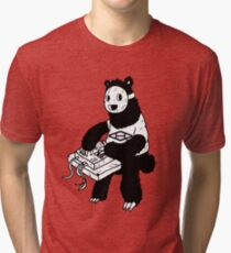 AAHIPHOP MPC Bear Tri-blend T-Shirt