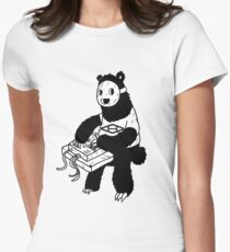 AAHIPHOP MPC Bear Women's Fitted T-Shirt
