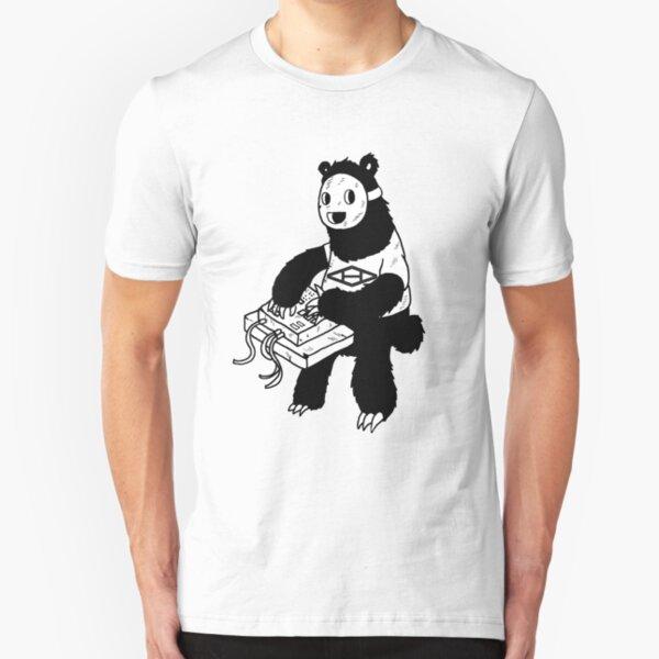 AAHIPHOP MPC Bear Slim Fit T-Shirt