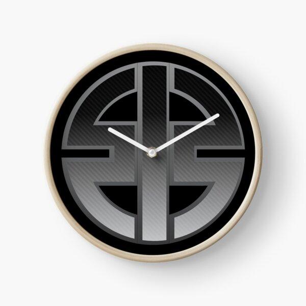 CARBON KAWASAKI H2 LOGO Clock