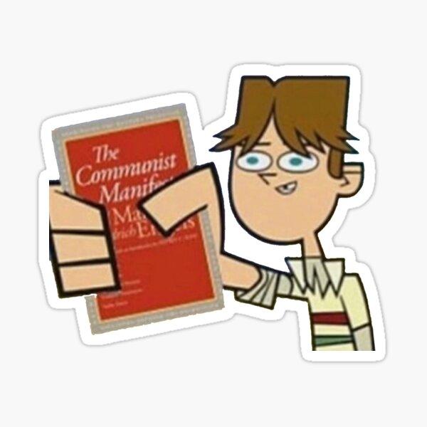 Communist Cody (Total Drama) Sticker