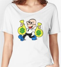 Community Dean with Money Women's Relaxed Fit T-Shirt