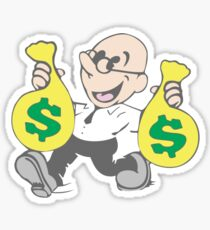 Dean Pelton Success! Character Sticker