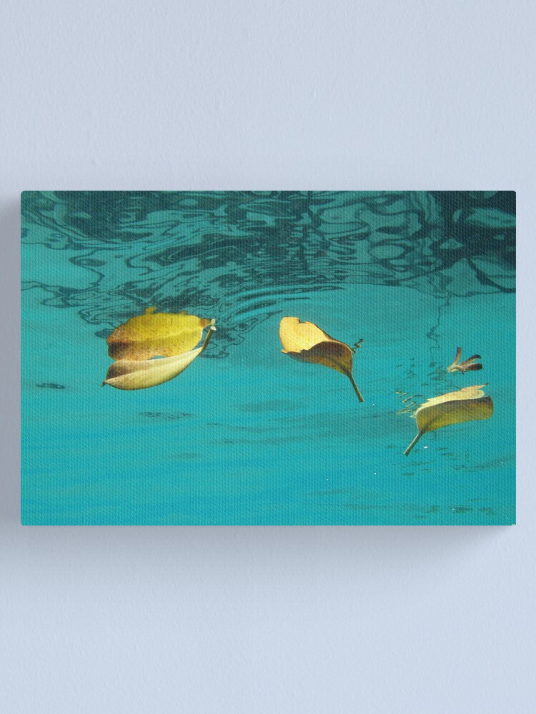Alternate view of Three and a Flower Canvas Print