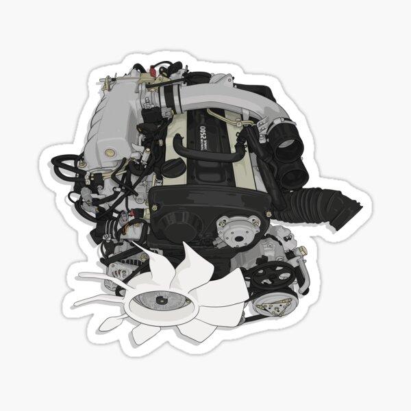 RB25 DET Engine  Sticker
