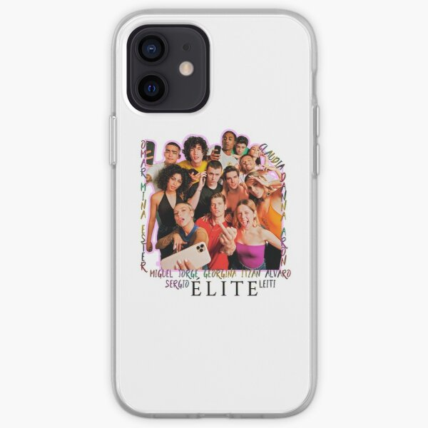 elenco de elite netflix Funda blanda para iPhone