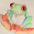 Ribbit.... by Alison  Brown