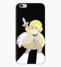 aziraphale again iPhone Case