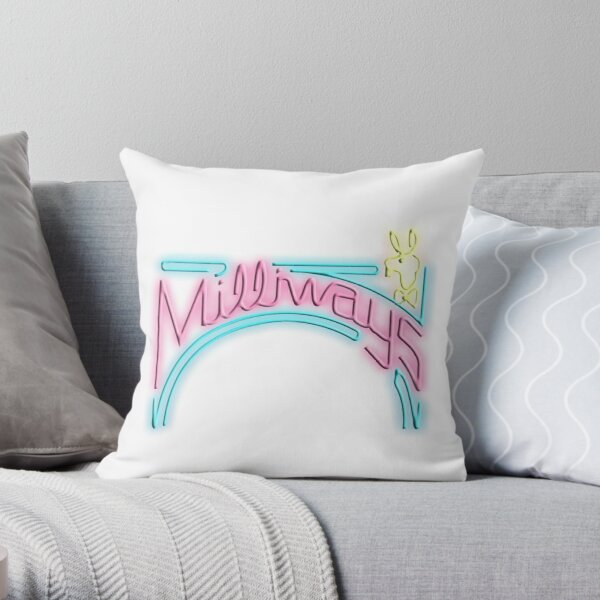 Milliways Throw Pillow
