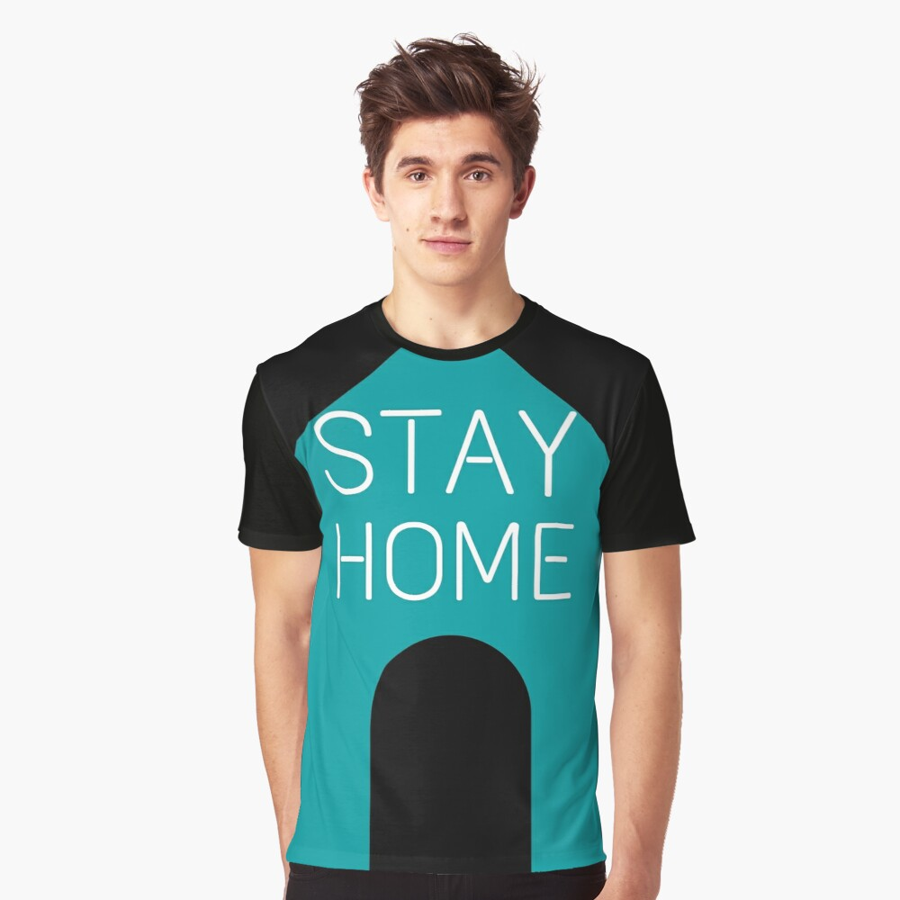 """""""Stay Home - Quarantine quotes - Stay Safe - Please"""" T ..."""
