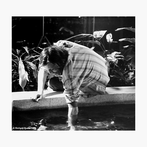 What's In The Water George? Photographic Print