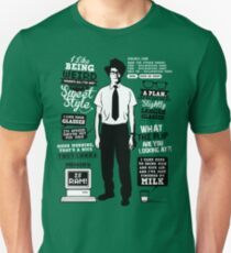 Moss Quotes  T-Shirt