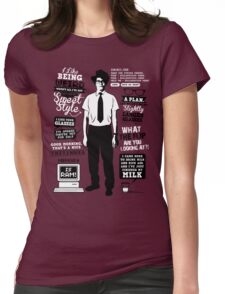 Moss Quotes  Womens Fitted T-Shirt