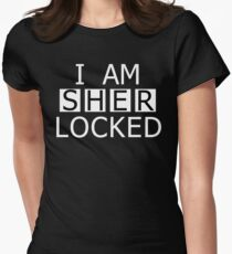 I AM SHER-LOCKED Women's Fitted T-Shirt