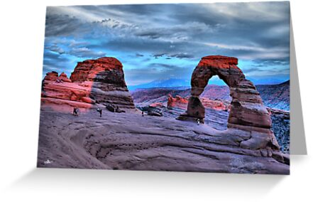 Delicate Arch at Sunset by Gregory Ballos