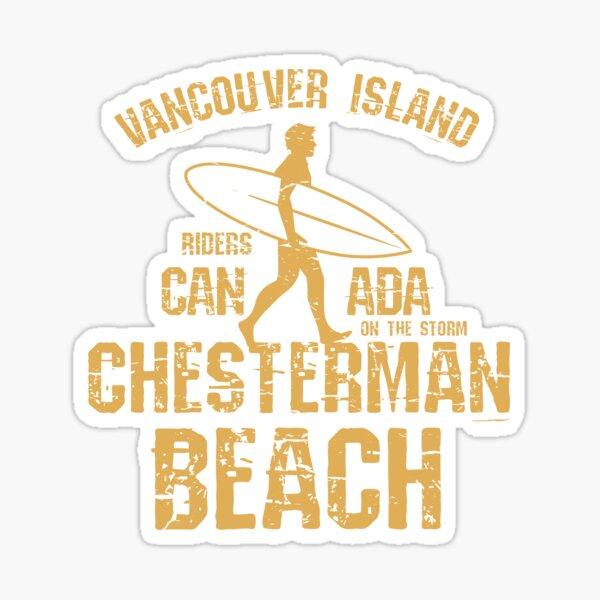 Chesterman Beach, Vancouver Island Sticker