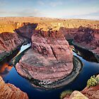 Horseshoe Bend at Sunrise by Gregory Ballos