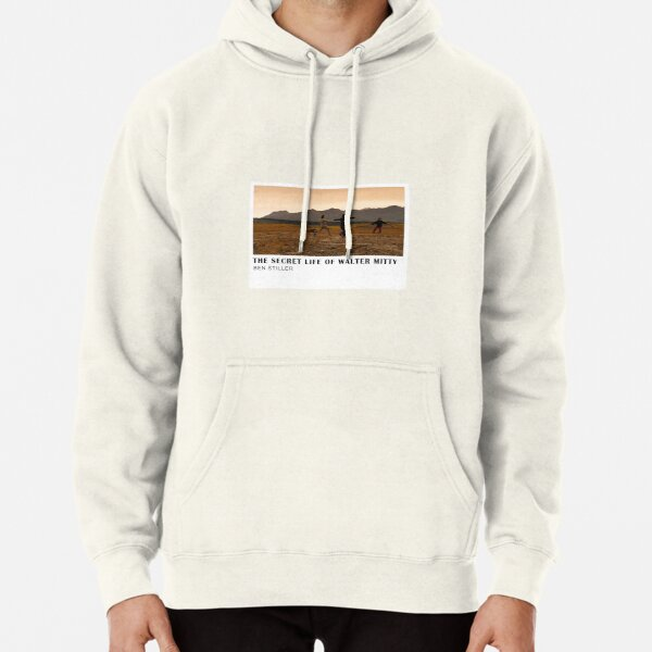 The Secret Life of Walter Mitty Movie Poster Pullover Hoodie