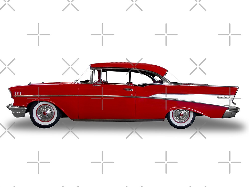 Chevrolet - 1957 BelAir Coupe by axemangraphics