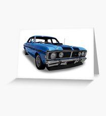 Ford - 1970 GT-HO Sedan Greeting Card