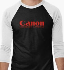 Ganon Legendary Cameras  Men's Baseball ¾ T-Shirt