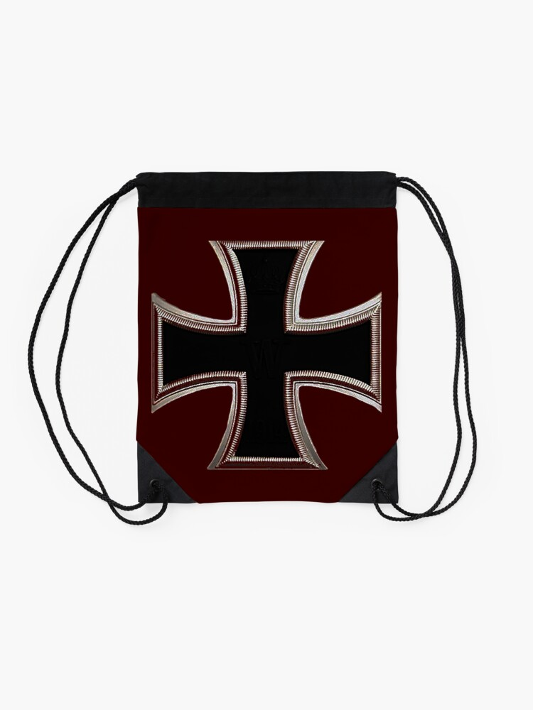 Alternate view of German Iron Cross Drawstring Bag