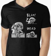 Kim Pine - Gun Men's V-Neck T-Shirt