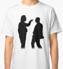 Bottom silhouette - Richie and Eddie Classic T-Shirt