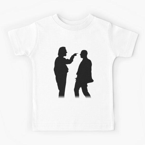 Bottom silhouette - Richie and Eddie Kids T-Shirt