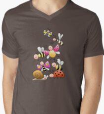 Little bugger Men's V-Neck T-Shirt