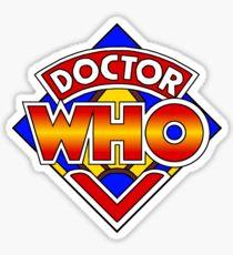 Doctor Who Diamond Logo - Colourful Sticker