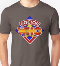 Doctor Who Diamond Logo - Colourful Unisex T-Shirt