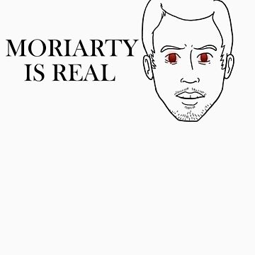 Moriarty Is Real BLACK LINES by AimeeGallifrey