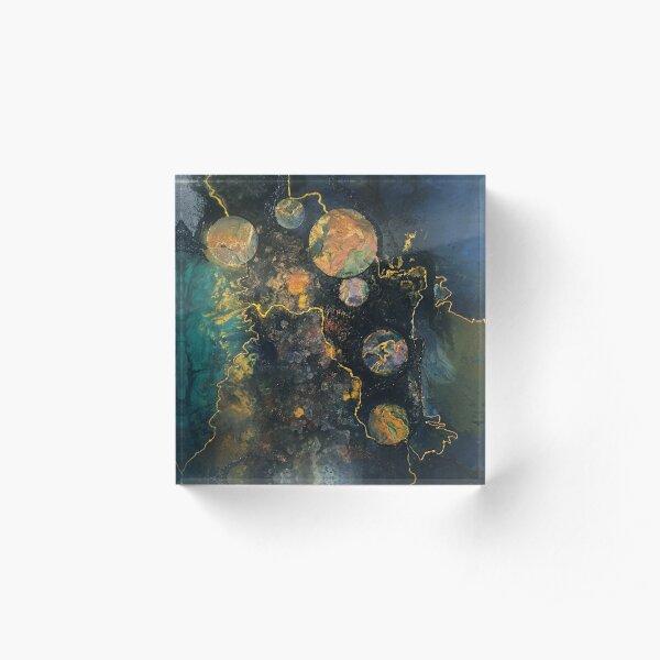 Bubbles Acrylic Block