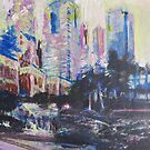 Pershing Square  by John Fish
