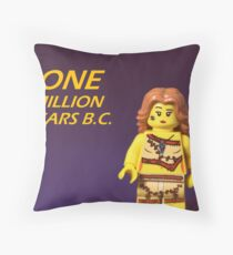One Million Years BC Throw Pillow