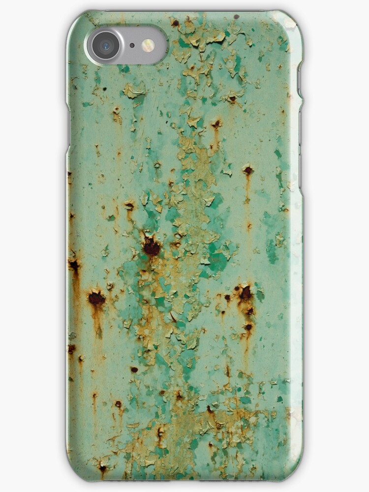 Rusted iPhone Case by Glennis  Siverson