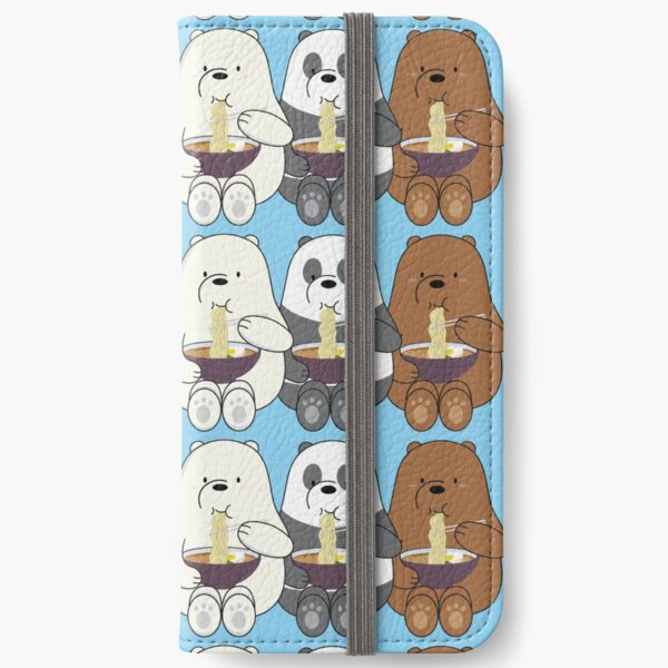 Nosotros osos desnudos Fundas tarjetero para iPhone