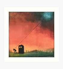 Boy On A String [Constellations] Art Print